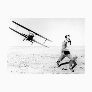 Cary Grant in Action, Archival Pigment Print Framed in Black, Everett Collection, 1959