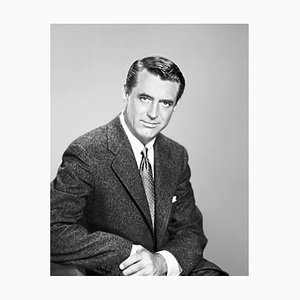 Dashing Cary, Archival Pigment Print Framed in White, Everett Collection, 1950s