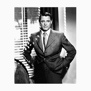 Cary Grant In Notorious, Archival Pigment Print Framed in White, Everett Collection, 1946