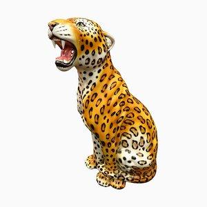 Italienischer Tiger aus Keramik, 1960er