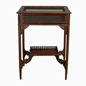 Antique English Bijouterie Table