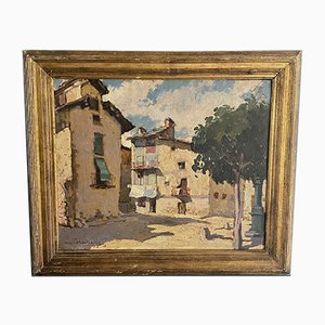 Henri Montassier, 1880-1946, huile sur toile
