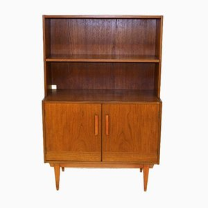 Swedish Teak Cabinet with Drawers, 1960s