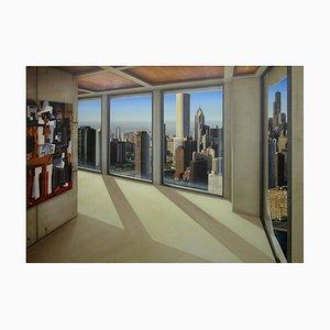 Chicago dipinto di Victor Goikoetxea