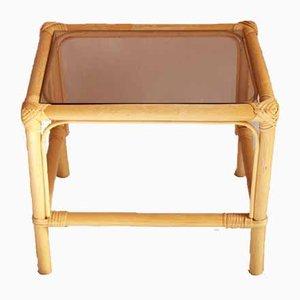 Table Basse Cosimo Mid-Century en Bambou, 1960s
