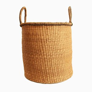 Vintage Cesta Wicker Plant Holder, 1970s