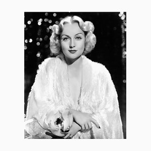 Glamorous Carole, Archival Pigment Print Framed in Black, Everett Collection, 1930s