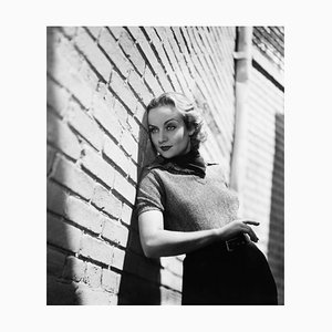 Carole Lombard On the Paramount Lot, Archival Pigment Print Framed in White, Everett Collection, 1935