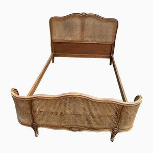 Sofá cama estilo Luis XV antiguo
