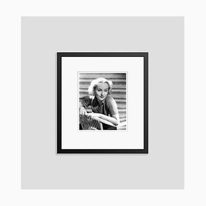 Carole Lombard Smiling Sweetly, Archival Pigment Print Framed in Black, Everett Collection