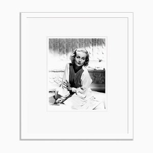 Carole Lombard On A Fashion Shoot, Archival Pigment Print Framed in White, Everett Collection