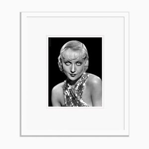 Carole Lombard Glamorous Portrait Still, Archival Pigment Print Framed in White, Everett Collection, 1932