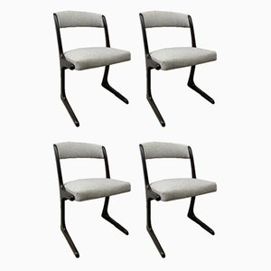 Kangaroo Dining Chairs, 1960s, Set of 4