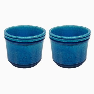 Flower Pots by Nils Kähler for Kähler, 1960s, Set of 2
