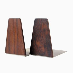 Mid-Century Teak Bookends from FM Møbler, 1960s, Set of 2