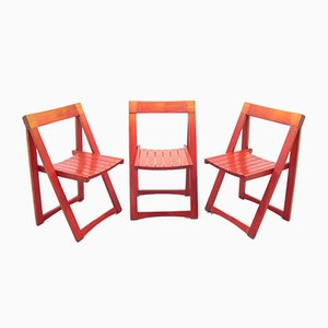 Folding Chairs, 1970s, Set of 3