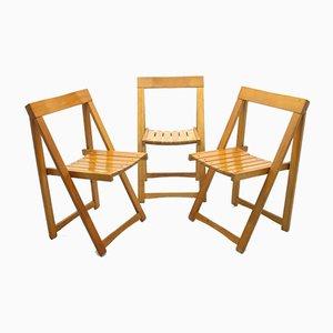 Chaises Pliantes, 1970s, Set de 3