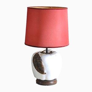 Glazed Ceramic Table Lamp, 1960s