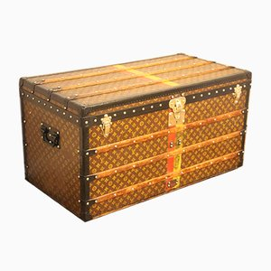 Trunk in Monogram Canvas Steamer Trunk by Louis Vuitton, 1930s
