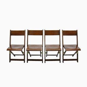 Chaises Pliantes, 1960s, Set de 4