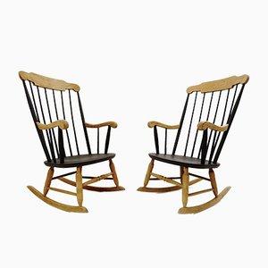 Rocking Chairs, 1970s, Set de 2