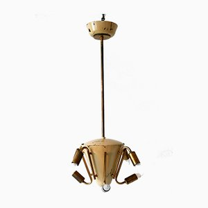 Lampadario o lampada a sospensione Sputnik a otto braccia, anni '50