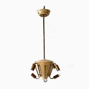 Lustre à 8 Bras Sputnik ou Lampe à Suspension, 1950s