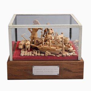 Victor Mehl, Handgemachte Figuren aus Holz, 1911-1944