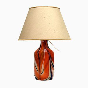 Lampe de Bureau en Verre Soufflé par Carlo Moretti, 1970s