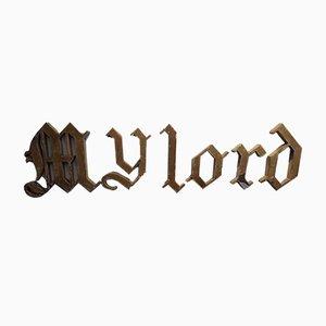 Ensemble de lettres gothiques My Lord
