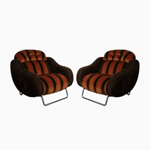 Space Age Lounge Chairs, 1970er Jahre, 2er-Set