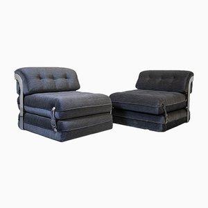 Vintage Lounge Stühle, 2er Set