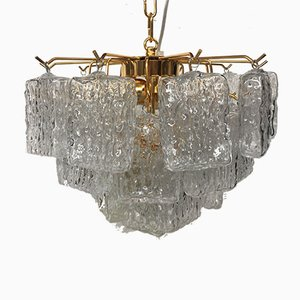 Sputnik Murano Glass Brick Chandelier from Italian Light Design