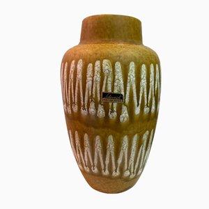 Deutsche Keramikvase aus Scheurich, 1970er Jahre