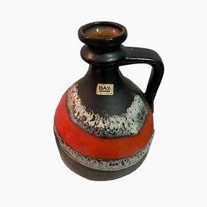 German Ceramic Vase from Bay Keramik, 1970s