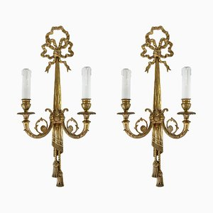 Bronze Sconces, 1930s, Set of 2