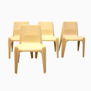 Modell BA 1171 Stühle von Helmut Bätzner für Bofinger, 4er Set