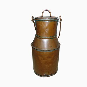 Vintage Art Deco Copper Jug