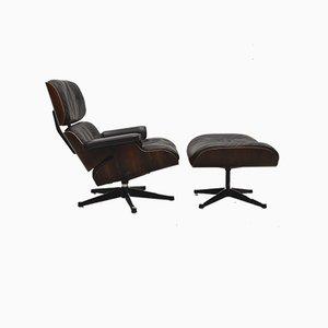 Lounge Chair mit Ottoman von Ray & Charles Eames für Herman Miller, 1960er Jahre, 2er-Set