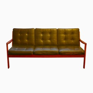 Teak Model Senator Sofa by Ole Wanscher for France & Søn / France & Daverkosen, 1950s