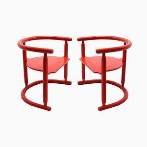 Sillas Anna de Karin Mobring para IKEA, años 60.Juego de 2