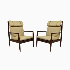 Lounge Chairs by Grete Jalk, 1960s, Set of 2