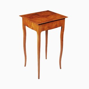 Small Cherry Biedermeier Side Table, France, 1840s