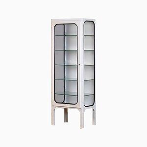 Vintage Medical Cabinet mit fünf Glasböden, 1970er Jahre