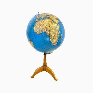 Mid-Century Globus von A. Minelli für Antonio Vallardi, 1960er