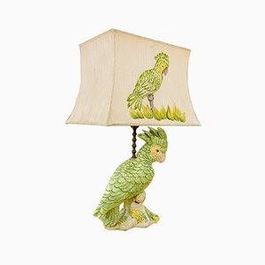 Italian Parrot Table Lamp, 1960s