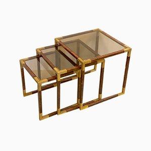 Vintage Nesting Tables, Set of 3