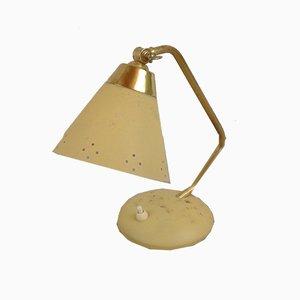 Industrielle Mid-Century Tischlampe von EWÅ, 1950er