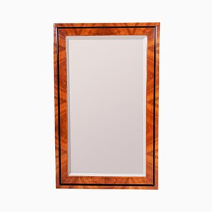Early 19th Century Czech Biedermeier Walnut Mirror in the Frame, 1830s