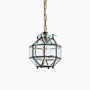 Lampe à Suspension Art Nouveau Sécessionniste dans le Style d'Adolf Loos, 1950s
